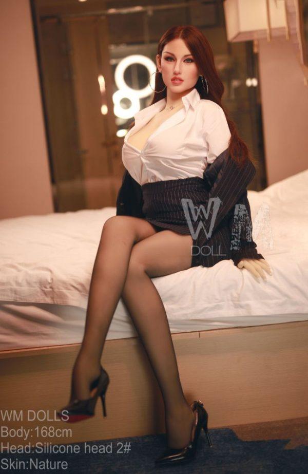 Katya: Lifelike Silicone Head Sex Doll - Sex Doll - Sex Doll - WM Doll - Cheap Sex Dolls - Sex Dolls For Sale