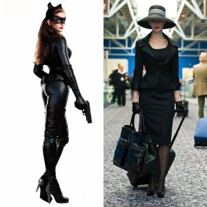 Catwoman Sex Doll Fantasy - Selina Kyle Sex Doll - Anne Hathaway Sex Doll - Anne Hathaway Pantyhose - Anne Hathaway Stockings