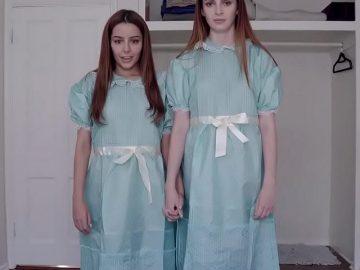 The Shinning Twins Sex Doll Fantasy - Sex Doll Threesome - Femdom Sex Doll